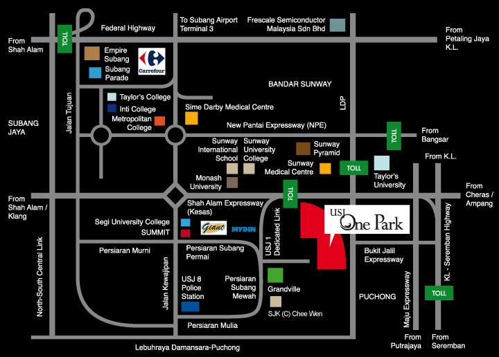 Usj One Park Condominium Usj 1 Usj Uep Subang Jaya