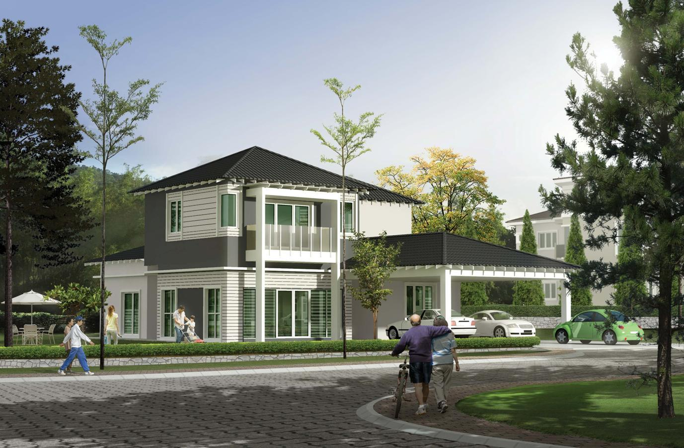 Meru hills bungalows alexandra brooklya chelsea for Hlb home designs