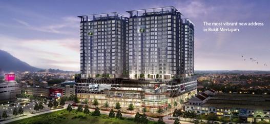 Bm City Mall Designer Suites Bandar Perda Bukit