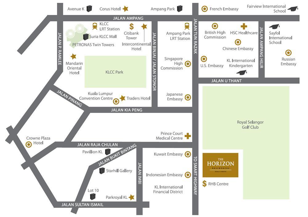 The Horizon Residences Jalan Tun Razak Kuala Lumpur