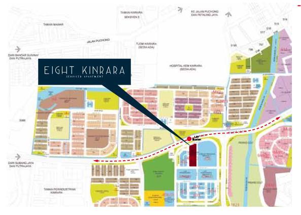 Bandar Kinrara Phase 4d6c Eight Kinrara Bandar