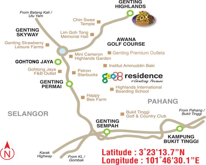 Geo 38 Residence Genting Permai Genting Highlands